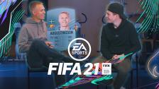 Augustinsson och Witry reagerar på sina kort i FIFA 21