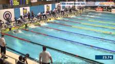 48 100m Frisim Herrar B-Final SM/JSM 25m 2015