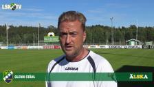 Glenn Ståhl inför hemmamatchen mot Skövde AIK