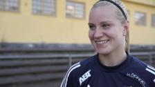 Camilla Huseby inför Kopparbergs/Göteborg