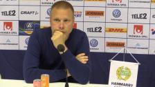 Se presskonferensen efter målfesten mot Falkenberg