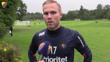 Gustav Engvall inställd på hårt jobb på söndag