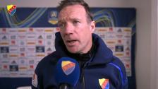 Kim Bergstrand efter derbyförlusten