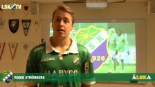 Robin Strömberg, vårt fjärde nyförvärv inför säsongen
