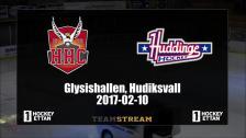 Highlights Hudik Hockey - Huddinge 2017-02-10