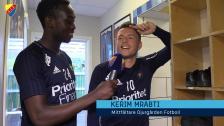 Tino snackar upp Malmömatchen