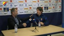 Presskonferensen efter AFC Eskilstuna borta