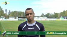 Intervju med Ahmed El Amrani, matchens LSK-profil mot IK Frej Täby
