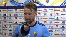 Une Larsson målskytt mot Häcken