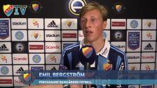 Emil Bergström blev matchens lirare