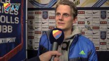 Tim Björkströms om sin första allsvenska match i Djurgårdströjan