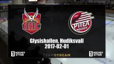 Hudik Hockey vs. Piteå - 01 Feb 18:50 - 21:14
