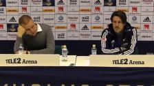 Presskonferenser