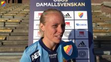 Mia Jalkerud efter Kopparbergs/Göteborg