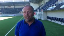 Anders Johansson efter U21-segern mot Gefle