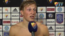 Emil och målskytten Faltsetas om matchen