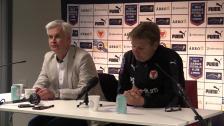 Presskonferensen efter Kalmar FF - Hammarby