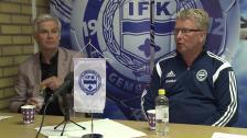 Presskonferensen efter IFK Värnamo - Hammarby