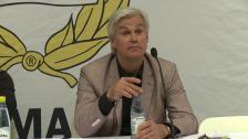 Presskonferensen efter Hammarby - Syrianska