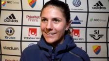 Maddie Bauer om kryss mot Linköping