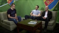 DIFTV-studio inför hemmapremiären