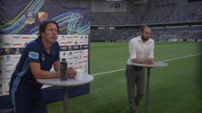 Presskonferensen efter Djurgården- BK Häcken