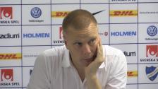 Presskonferensen efter 0-0-mötet med IFK Norrköping