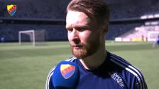 Une Larsson är tillbaka efter skada och sjukdom
