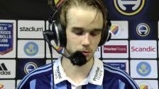 Intervjuer efter segern mot Norrköping