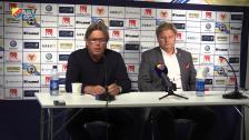 Presskonferensen med Pelle Olsson och Peter Swärdh