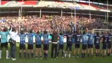 Jubel efter derbysegern 2010