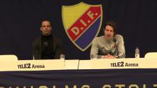 Presskonferensen efter DIF - Dalkurd