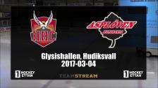 Highlights Hudik Hockey - Asplöven PO1(2) 2017-03-04