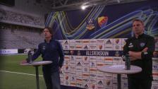 Presskonferensen efter Djurgården - Falkenberg