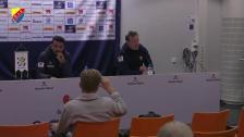 Presskonferensen efter IFK Göteborg - Djurgården