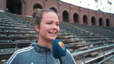 Intervjuer efter segern mot Växjö