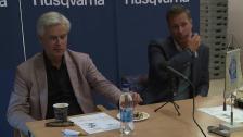 Presskonferensen efter Husqvarna FF - Hammarby