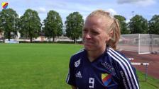 Mia Jalkerud inför KIF Örebro