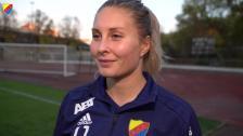Fanny Andersson inför årets sista hemmamatch