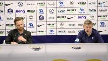 Tränarnas presskonferens efter 1-1 borta mot AIK