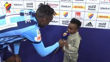 Tino och hans son om matchen
