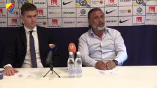 Presskonferensen efter AFC Eskilstuna - Djurgården