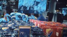 Julhandla dina klappar i Djurgårdsbutiken i Globen Shopping