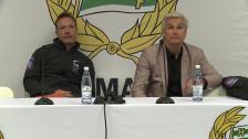 Presskonferensen efter Hammarby - IK Sirius